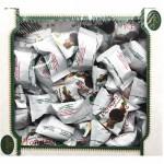 """Конфеты """"Перфетто"""" кокос в черном шоколаде с фундуком Amanti, 500г."""